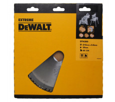 Lame de scie DEWALT EXTREME WORKSHOP - Ø 216 x 30 mm - 60 dents - DT4370