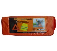 Kit de sécurité auto - 1 Gilet + 1 triangle de signalisation - 532.170