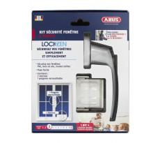 Pack Lockzen 3 points ABUS pour sécurisation de fenêtre - 0072391