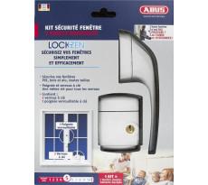 Pack Lockzen 3 points renforcés ABUS pour sécurisation de fenêtre - 0072392