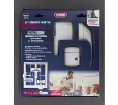 Pack Lockzen 5 points haute sécurité ABUS pour sécurisation de fenêtre - 0072393