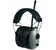 Casque serre-tête antibruit SINGER avec dispositif audio - HG816R