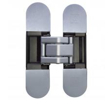 Charnière pour porte KRONA KOBLENZ en acier invisible - Chromé satiné - K8000 CS