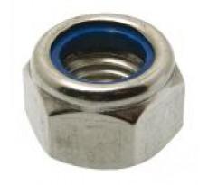 Écrou hexagonal MAURIN - autofreiné à anneau non métallique - 43801