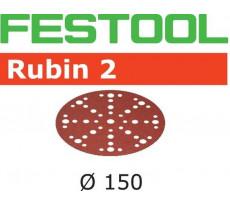 Abrasif pour ponçeuse FESTOOL Rubin 2 - Ø 150 mm