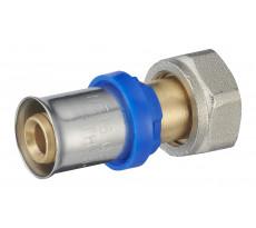 Raccord droit à sertir multiprofil TH-H-U pour tube multicouche NOYON & THIEBAULT - 31020