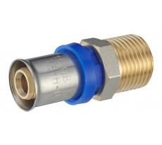 Raccord droit à sertir multiprofil TH-H-U pour tube multicouche NOYON & THIEBAULT - 31010