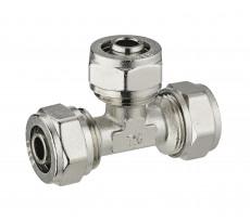 Té égal à compression pour tube multicouche NOYON & THIEBAULT - 3980