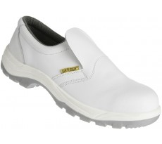 Chaussure basse en cuir blanche - SAFETY JOGGER - X0500 S2