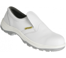 Chaussure basse en cuir blanche - Taille 46 - SAFETY JOGGER - X0500 S2