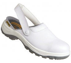 Chaussure en cuir blanche - Taille 39 - SAFETY JOGGER - X0700