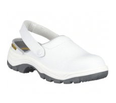 Chaussure en cuir blanche - SAFETY JOGGER - X0700