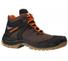 Chaussures de sécurité AIR CROSS BOSSEUR - Haute S3 - Marron - 11444