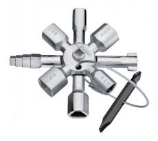 Clé multi-usage KNIPEX 10 empreintes - 001101