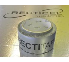 Bande adhésive Rectitape RECTICEL 25mx50mm pour Powerwall et Eurotoit - 9000001666