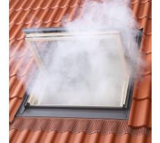 Exutoire de désenfumage VELUX - Fenêtre de toit GGL UK08  134x140 - S3076M-SK Conformite CE/NF