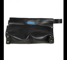 Poche à clous en cuir DIMOS - 2 compartiments - à soufflet - 205725