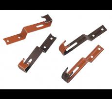 Crochet de faîtage pour tuile béton UBBINK - ocre - 470/53  - 203821