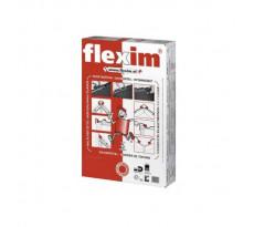 Mortier de toiture Flexim 500  x 100 x 35 mm BWK - paquet de 10 plaquettes - brun foncé - 1000004371
