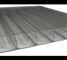 Plaque de polycarbonate Thermoclear SUNCLEAR + profil de jonction