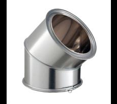 Ensemble éléments conduits cheminée - POUJOULAT - inox galvanisé - 606000