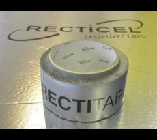 Bande adhesive rectitape 50mx50mm pour powerwall et eurotoit