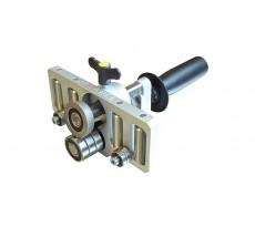 Plieuse à main simple colonne 4 rouleaux de guidage JOUANEL - 200 mm - PLIMSC4-200