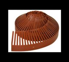 Closoir peigne 65 mm B.W.K. - 1 m - brun - 62010070