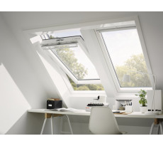 Fenêtre triple vitrage finition blanche VELUX - GGU