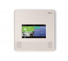 Centrale d'alarme radio Wi-Fi NICE - écran tactile - MNCUTC