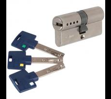 Cylindre européen Mul-T-Lock 262S+ - 31 x 40 - 3 clés - Barre de renfort - 51200451