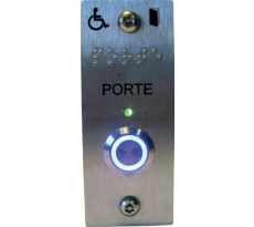 Bouton poussoir EFFEFF PMR - Inox -