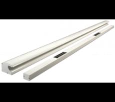 Bandeau ventouse 2X300kg tri-tension 12/24/48V automatique blanc 9010 - GROOM - GRS332157