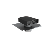Chapeau de toiture métallique CTM 500 - ardoise - 6067