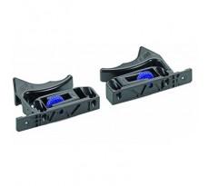 Cliquets pour tiroirs en bois avec base rainurée Quadro 25 et V6 HETTICH - 91448