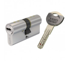 Cylindre de Sureté TK6 3 clés incopiables double brevet Nickelé 30X40 - AK6353040N
