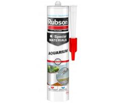 Mastic aquarium RUBSON spécial vitrage translucide - cartouche 300 ml - 1495390