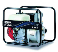 Motopompe Portable Power ST 2.36H SDMO - moteur Honda GX120 - ST 2.36 H