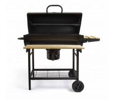 Barbecue à charbon baril LIVOO 101x70.5x94.5 cm - DOC206