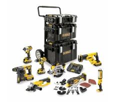 Kit premium DEWALT 8 outils 18V 5Ah Li-Ion - DCK853P4