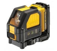 Laser en croix 10.8V 2.0Ah DEWALT - faisceau vert - batterie et chargeur - DCE088D1G