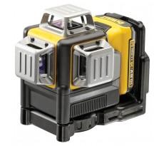 Laser 10.8V 2.0Ah DEWALT 3X360° - faisceau Rouge - Batterie et chargeur - DCE089D1R