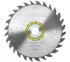 Lame de scie circulaire FESTOOL - bois - Ø160 mm - 28 dents - AL20 - 496302