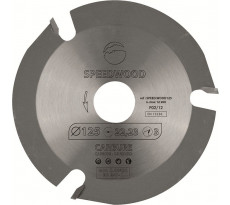 SPEEDWOOD125 Disque au carbure - Diamètre : 125 mm