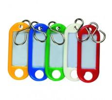 Porte étiquette DECAYEUX - 100 pièces - coloris assortis -  494101