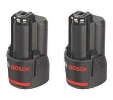 Twinpack BOSCH GBA 12V 3.0Ah - 1600A00X7D