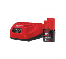Pack NRJ MILWAUKEE M12 2.0Ah + Chargeur - 4933451900