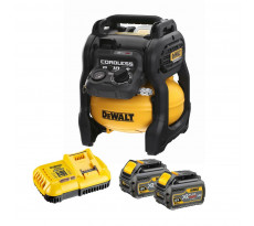 Compresseur 54V 2.0Ah DEWALT XR Flexvolt - 10L - 2 Batteries + chargeur - DCC1054T2