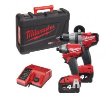 Powerpack MILWAUKEE 18V M18 PP2A-402C M18CPD + M18CID - 4933440519