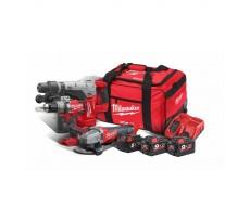 Powerpack MILWAUKEE 18V M18 SET3A-953B CHM-0+CAG125XPDB+ONEPD-0 - 4933459362